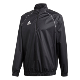 Adidas windjack regenjas met korte rits CORE 18