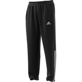 Zwarte Adidas trainingsbroek met witte strepen Regista 18