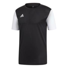 Junior zwart Estro 19 Adidas shirt met korte mouwen