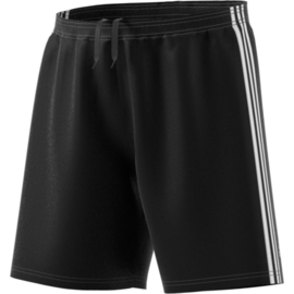 Zwarte korte broek Adidas witte strepen Condivo 18
