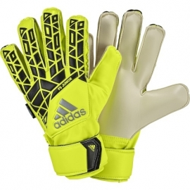 Adidas keepershandschoenen Fingersave junior geel zwart