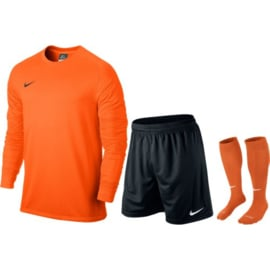 Nike oranje keeperstenue