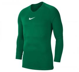 Nike thermoshirt donkergroen