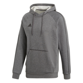 Grijze Adidas hoody met capuchon Core 18