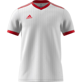 Wit Adidas shirt junior met korte mouwen