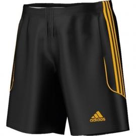 Adidas short zwart geel