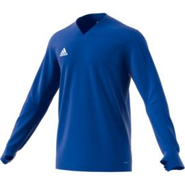 V Hals Lichtblauwe Adidas condivo 18 trui sweater