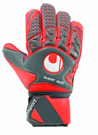 Rode Uhlsport keepershandschoenen junior Super Soft