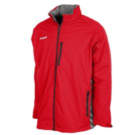 Rode All weather jas van Hummel
