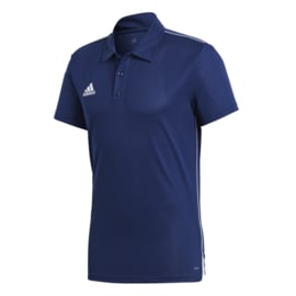 Blauwe Adidas polo Core 18