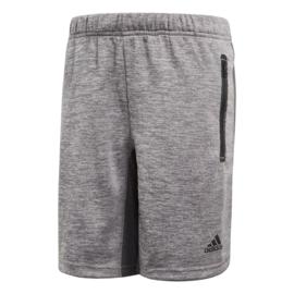 Korte Adidas broek met zakken in de kleur grijs