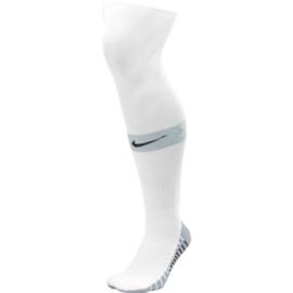 Witte Nike Matchfit voetbalsokken met zwart NIKE logo