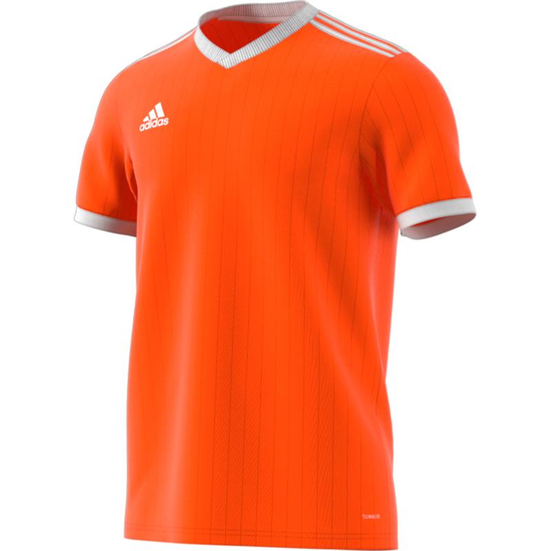 Oranje Adidas shirt junior met korte mouwen   Shirts