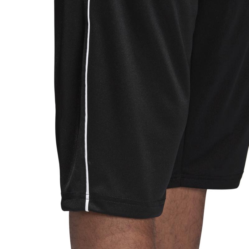 Driekwart zwarte broek van Adidas Core 18 | Korte broeken