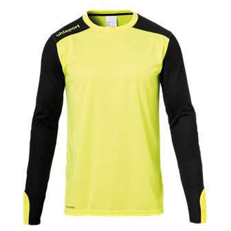Geel keepersshirt Uhlsport