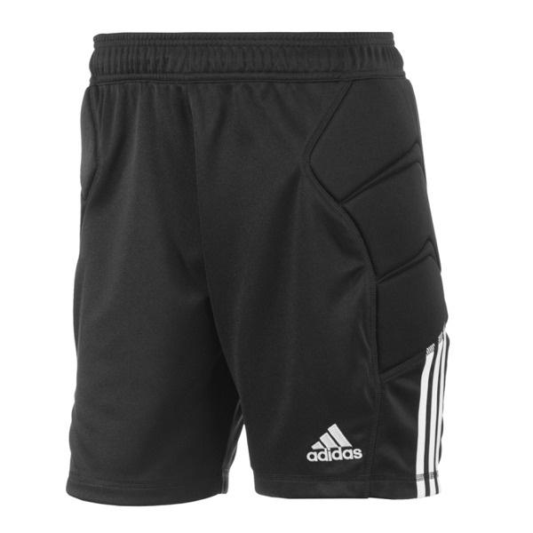 Adidas Tierro 13 korte keepersbroek zwart junior en senior met bescherming