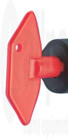 Losse sleutel voor accuschakelaar