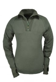Thermo Function Thermo Shirt TS 400 Zip Neck Long Sleeve