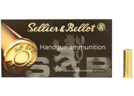 Kogelpatronen Sellier & Bellot .38 Spec LWC 148 grain