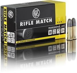 Kogelpatroon RWS Target Rifle Match .22 LR RN 40 Grain