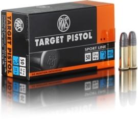 Kogelpatroon RWS Target Pistol .22 LR RN 40 Grain
