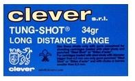 Hagelpatroon Clever Mirage TUNG-SHOT 12-70-4 34 gram
