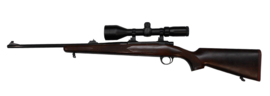 Kogelgeweer Sabatti voorzien van Bushnell 3-12x56