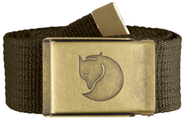Fjäll Raven Canvas Brass Belt