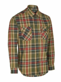 Deerhunter Gabriel Shirt L/S met Suede Details