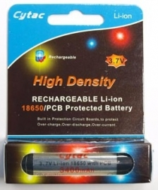 Batterij Olight 18650 Regargeable