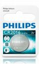 Batterij Philips CR2016 Lithium 3 Volt
