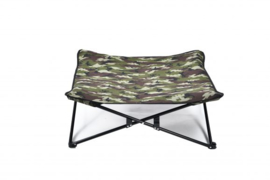Inklapbare Hondenbed Camouflage Groen 80x80x30 cm