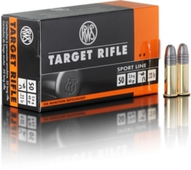 Kogelpatroon RWS Target Rifle .22 LR RN 40 Grain