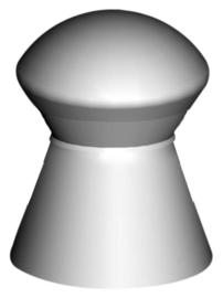 Luchtdrukkogeltjes Gamo Pro Hunter 4,5 mm 7.56 gr