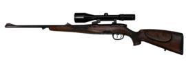 Kogelgeweer Steyr Mannlicher voorzien van Schmith & Bender 2.5-10x56