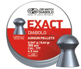 Luchtdrukkogeltjes JSB Exact Diabolo 4.52 mm 8.44 grain