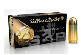 Sellier & Bellot 9mm Browning Court / .380 AUTO FMJ 92 grain