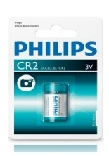 Batterij Philips CR2 Lithium 3 Volt