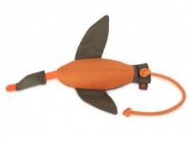 Firedog Duck dummy marking large 600 gram Oranje/Groen