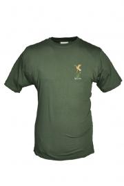 HUBERTUS  T-shirt met logo Eend