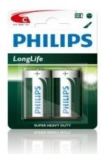 Batterij Philips C Longlife 1.5V R14