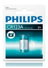 Batterij Philips/Varta CR123A Lithium 3 Volt
