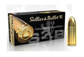 Sellier & Bellot 9 mm FMJ 115 grain