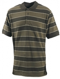 DEERHUNTER  Berkeley Polo Shirt Striped Green