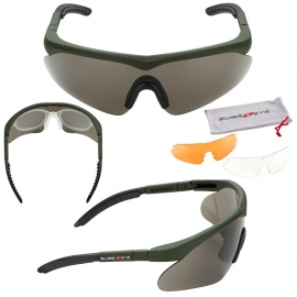 Schietbril SwissEye Raptor Green
