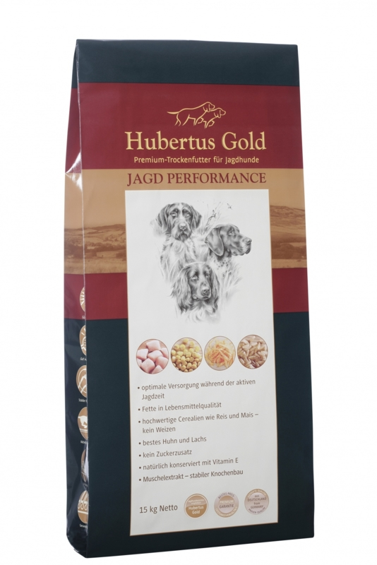 Hubertus Gold Jacht Performance Droogvoer 15kg