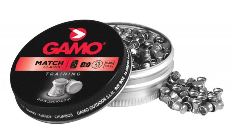 Luchtdrukkogeltjes Gamo Match 4.5 mm