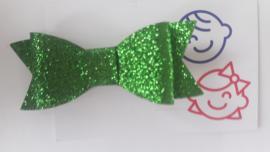 strik groen glitter 7 cm