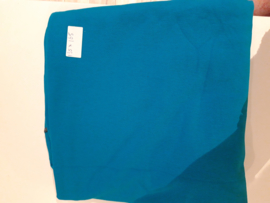 135 x 165 polo shirt stof aqua