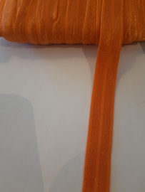 Elastisch biasband glans  oranjr